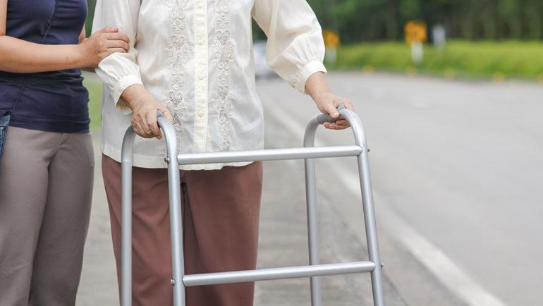 Confinamiento y movilidad en las personas mayores